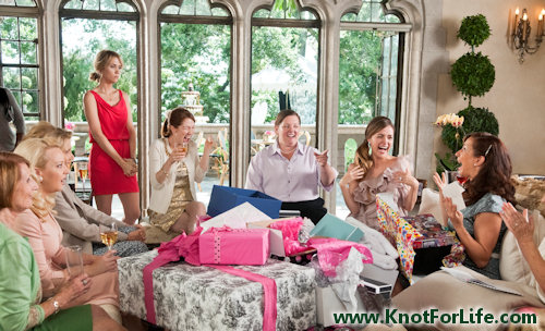 french theme bridal shower from the movie bridesmaids