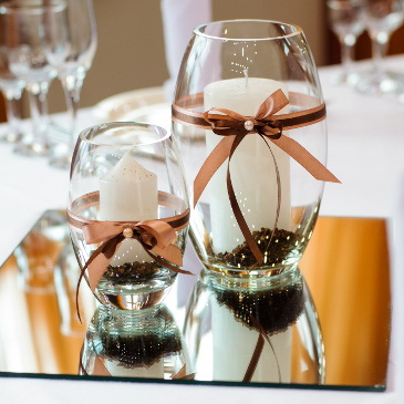 Ideas For Do It Yourself Wedding Centerpieces Knot Life