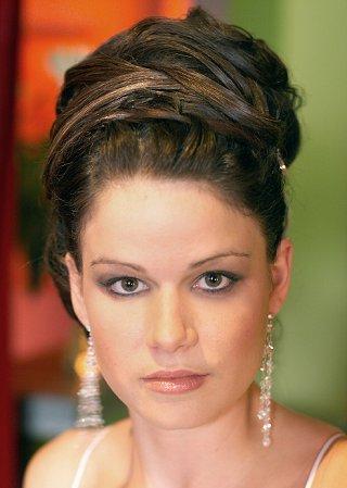 Bridal Hairstyle - Elegant Bridal Updo - Knot For Life