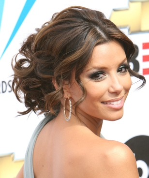 Eva Longoria Hairstyle - Celebrity Inspirations for Wedding Hairstyles