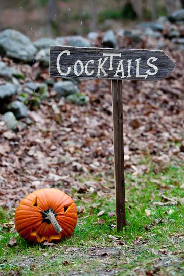 Halloween Pumpkin Wedding Decoration