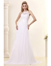 halter-neck-summer-wedding-dress
