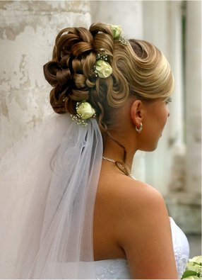 bridal hairstyle loopy bun knot for life. Black Bedroom Furniture Sets. Home Design Ideas