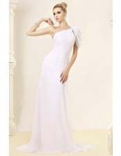 one-shoulder-summer-wedding-dress