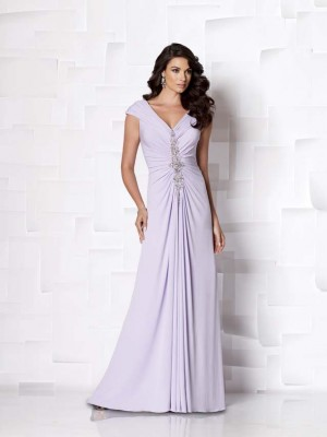 Pastel Second Wedding Dress cum Evening Gown