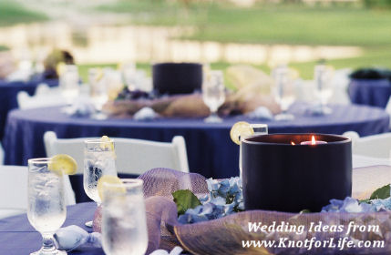 Purple Color Wedding Theme