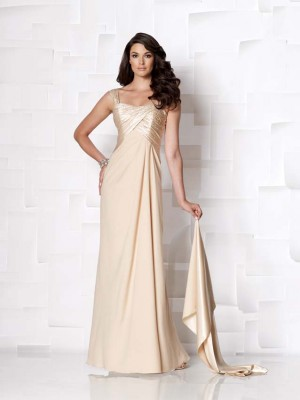 Second Wedding Evening Gown with Shawl