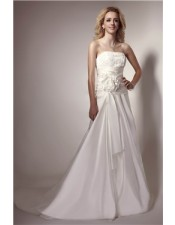 strapless-summer-wedding-dress