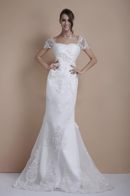 Wedding dresses for a second wedding knot for life for Bridal dresses for second weddings