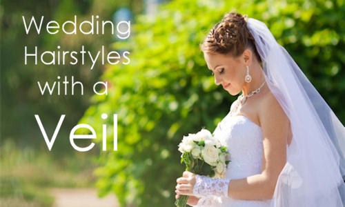 Wedding Hairstyles with a Veil