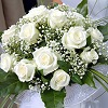 Winter White Roses Bouquet