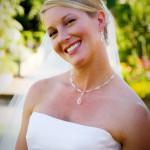 Low Bun Wedding Hairstyle with Veil